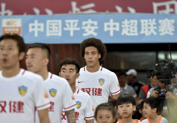 (SP)CHINA-TIANJIN-SOCCER-CSL-AXEL WITSEL
